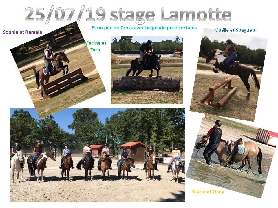 29 - 07 - 2019 Stage à Lamotte Beuvron